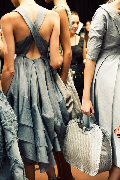 donna karan S13 by jamie beckFashion Weeks, Style, Bridesmaid Dresses, Givenchy, The Dresses, Grey Dresses, Back Details, Donnakaran, Donna Karen