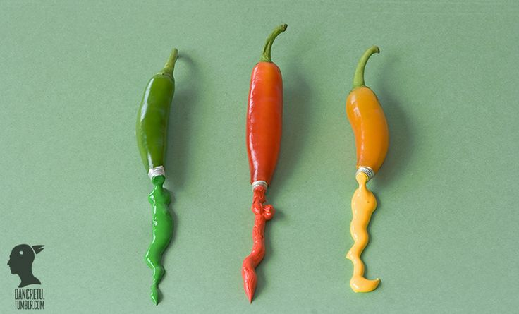 Amazing Printed Photography of Food Sculptures and Conceptual Art ...