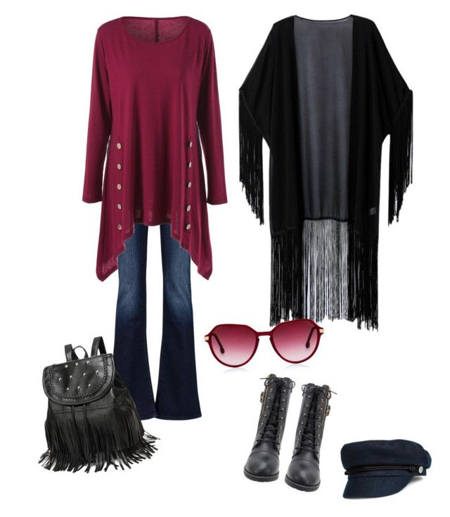 """""""Casual Chic"""" by heidi-uytendaal on Polyvore featuring 7 For All Mankind, WithChic and Steven Alan"""