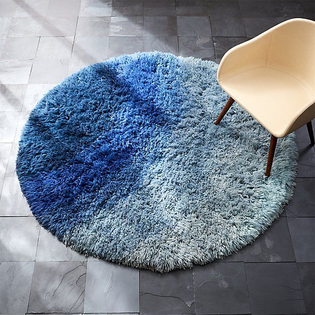be who we are blue shag rug