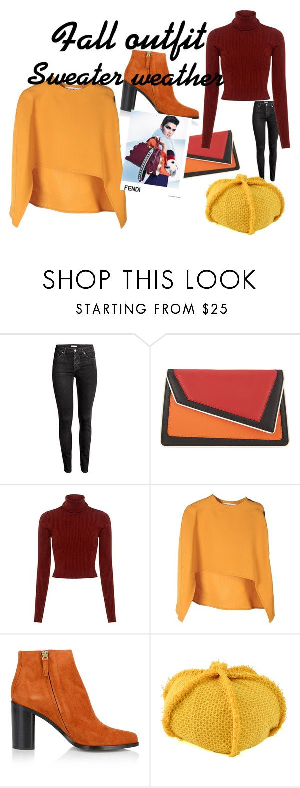 """Untitled #214"" by frupapp on Polyvore featuring âme moi, A.L.C., Marni, Chloé and Fendi"