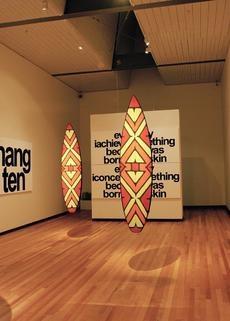 Vernon Ah Kee @ City Gallery Wellington, New Zealand