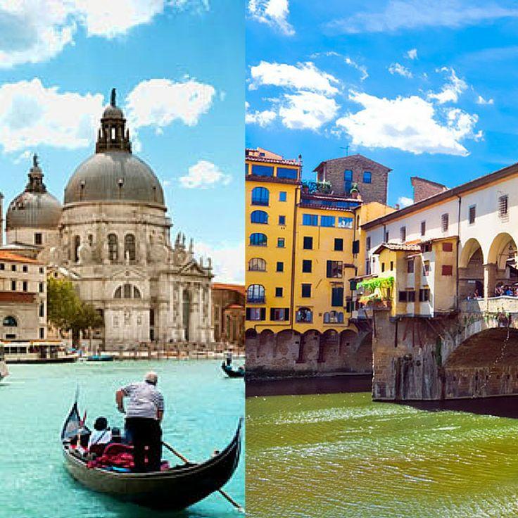 No te pierdas un fascinante circuito por #Florencia y #Venecia para combinar la ciudad del Arte con los famosos canales de Venecia. El viaje Combinado Florencia Venecia te permitirá recorrer #Italia pasando por dos de las ciudades más destacadas, disfrutando de sus principales puntos de interés como pasear en góndola y ver el Ponte Vecchio. Encuentra tu circuito Florencia Venecia aquí http://www.felicesvacaciones.es/ofertas-viajes-baratos/circuito-florencia-venecia/