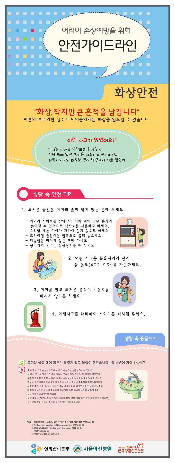 손상예방을 위한 어린이 안전가이드라인_화상안전(웹진)