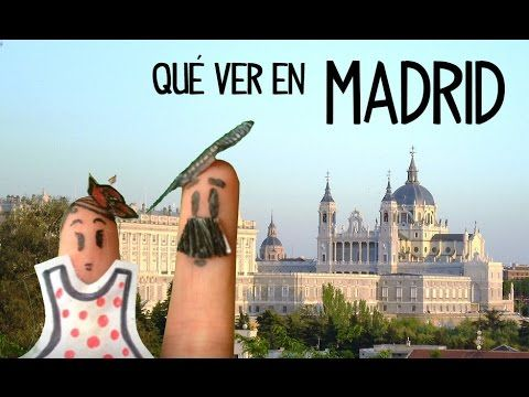 Turismo Madrid, sitios importantes para visitar, que ver en Madrid. Clases para aprender español online gratis. Ver vídeos para aprender español: http://goo....