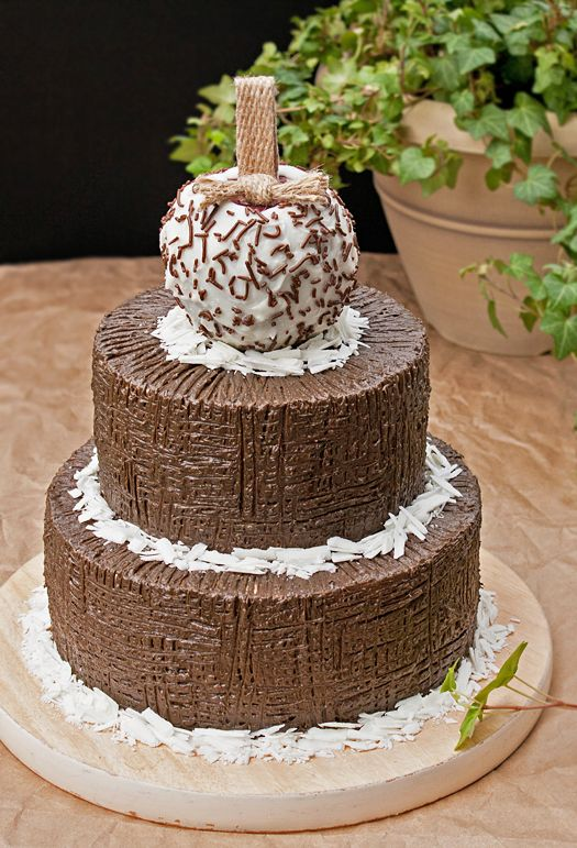 Chocolate Bundt Cake Decorating Ideas : How to decorate a cake with just a fork Pinterest ...