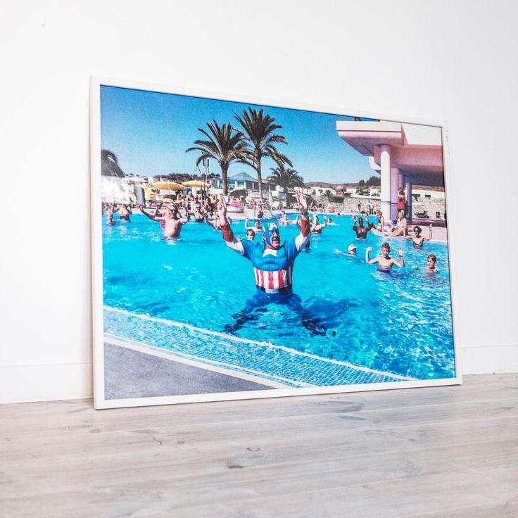 """""""Pool Guy"""" 50x70cm €110 / 21x30cm €25 👉🏽jennyojens"""