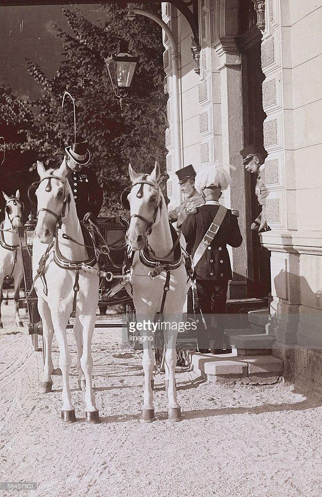 Re Edoardo VIII Inghilterra visita Franz Josef a Bad Ischl