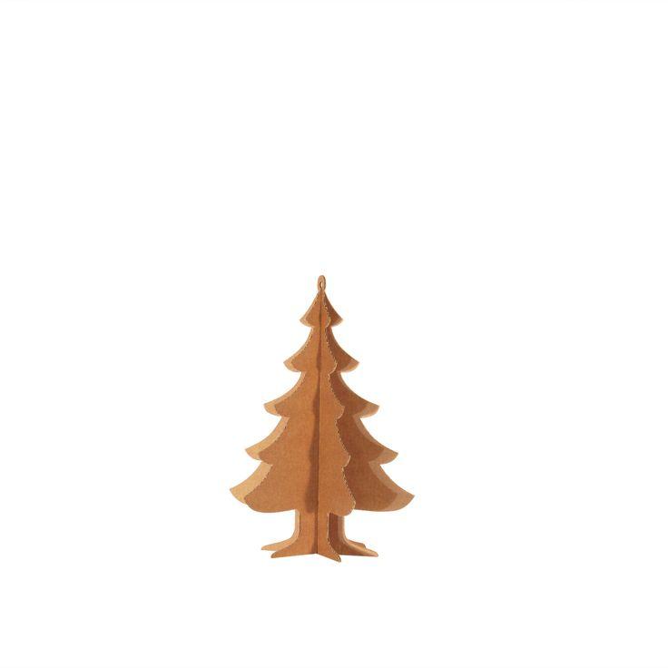 ALBERELLO DI NATALE BASIC M A003450  #cardboard #christmas #tree