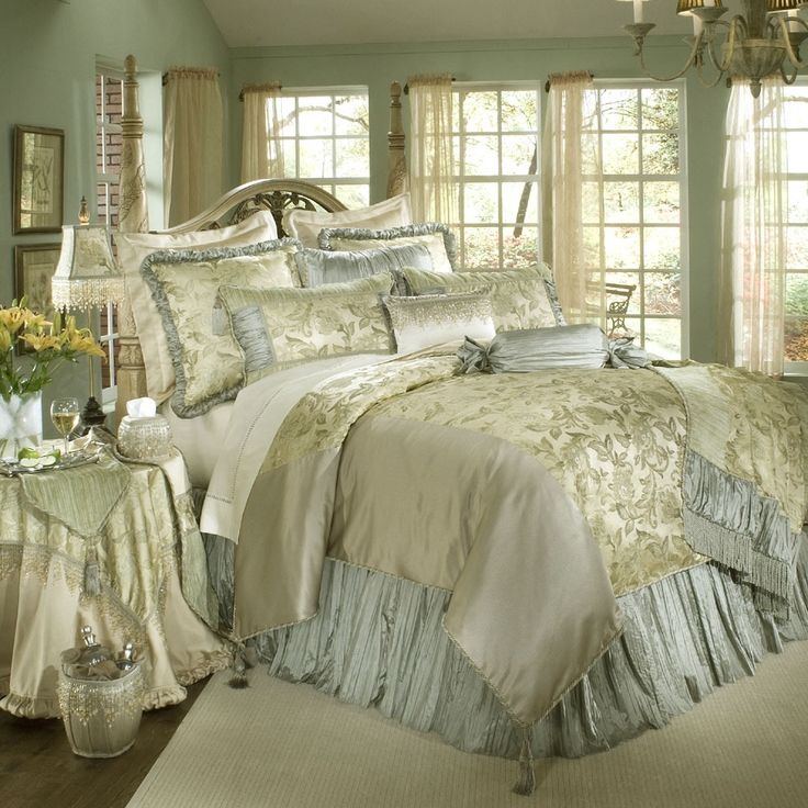 beautiful bedding  Captivating Luxury Bedroom Comforter Sets Using Velvet  Fabric Material in Grey Floral Pattern for King Size Bed. 58 best bedding images on Pinterest   Sequin bedding  Pink sequin