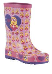 DESPICABLE ME ~ Pink Wellies