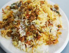 Keema and Basmati rice cooked together with spices and flavoued with saffron - See more at: http://www.sanjeevkapoor.com/Recipe/Keema-Biryani-Sanjeev-Kapoor-Kitchen-FoodFood.html#sthash.tZcpirwd.dpuf