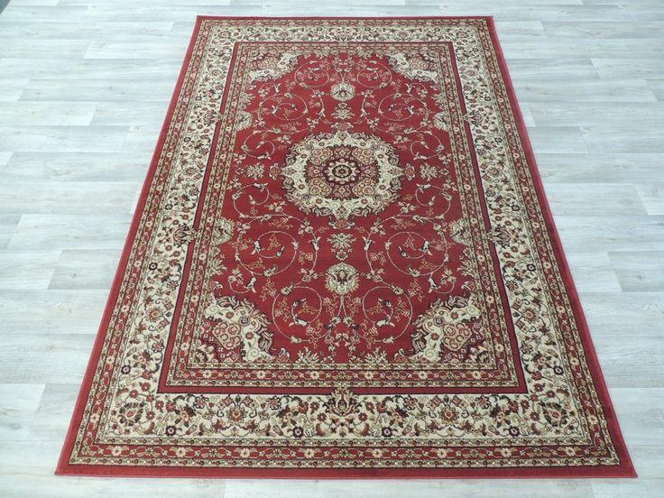 Traditional Red Medallion Design Turkish Rug Size: 200 x 290cm