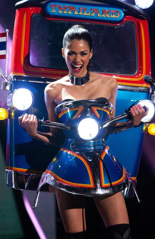 Miss Universe Thailand 2015, the winner of best national costume at Miss Universe 2015