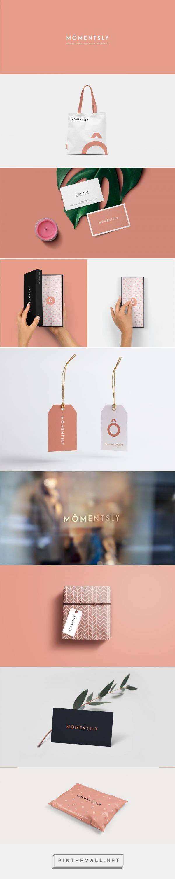 MÔMENTSLY Online Fashion and Beauty Store Branding by Fennec Studios | Fivestar Branding Agency – Design and Branding Agency & Curated Inspiration Gallery #fashionbranding #fashion #branding #brand #design #designinspiration