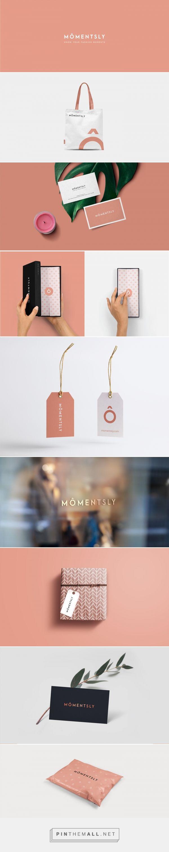 MÔMENTSLY Online Fashion and Beauty Store Branding by Fennec Studios | branding design, branding ideas, branding inspiration, branding