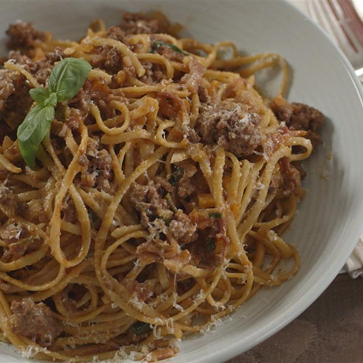 Try this Beef Ragu with Linguine recipe by Chef James Martin. This recipe is from the show James Martin: Home Comforts.
