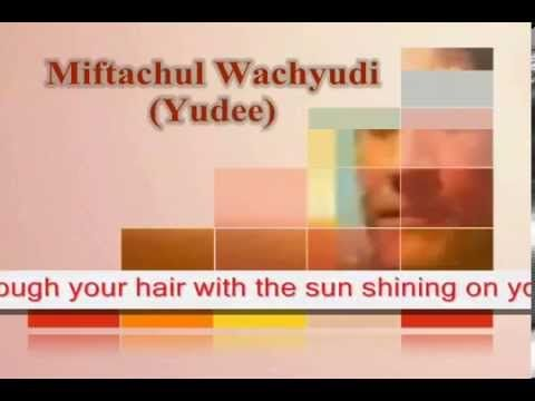 You're like this  model- Miftachul Wachyudi (Yudee)