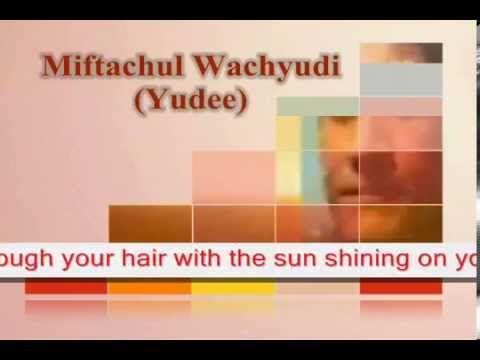 You're like this  model- Miftachul Wachyudi (Yudee)