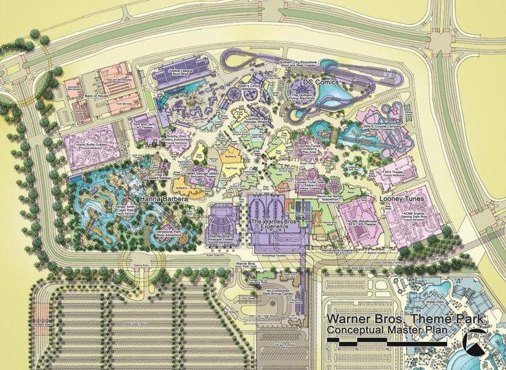 Greg Damron Warner Bros Theme Park Master Plan