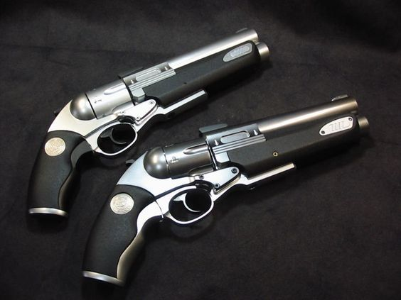 """LUIGI-FRANCHI """"SAFARI-13"""" 1995eb P - +3 / -2 - L - R - 4D6+3/5d6+1 (.454 Casull cased / .30-06 cased) - 5 / 1 - 1 / 1 - VR In function this weapon is exactly the same as the Safari-12, it just varies slightly in appearance, with more of classic look."""