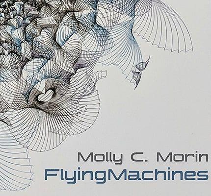 "Molly Morin's ""Flying Machines"" #exhibition opens tonight. #contemporary #art #data #processing #patrajdas #emergingartist #affordable #linkinbio"
