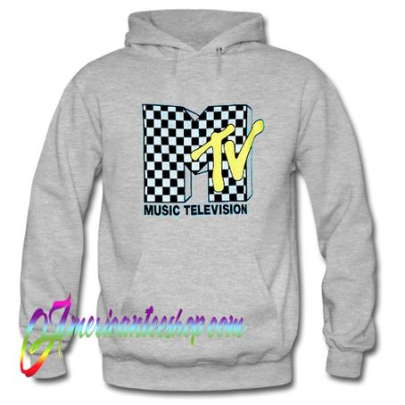 MTV Checkered Logo Hoodie