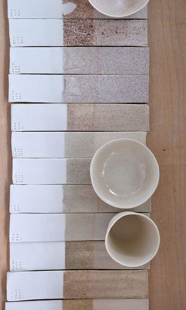 Ceramic Sample Glaze Tiles