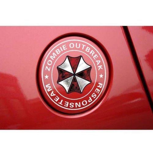 New Resident Evil Umbrella Corporation Car Fuel Tank stickers decal Reflective