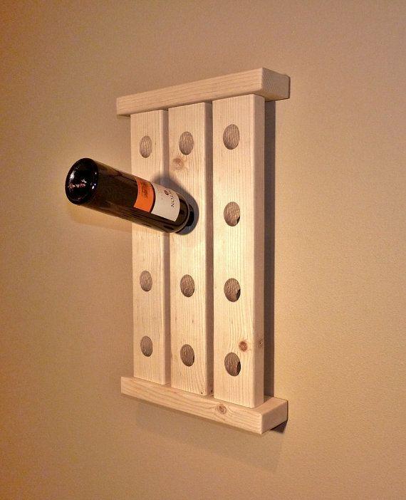 Wood Wine Rack Homestead Traditions Pinterest Wood Wine Racks