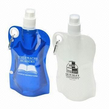 Big Flex Water Bag with Carabiner - Custom your own with your brand identity. Ask Promotions Global. www.promotionsglobal.com.au #waterbag #water #drinkware #design #branding #custom #promotional #merchandise #promotionsglobal #promosglobal