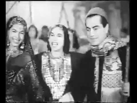 إحنا الصعايدة ... فريد الأطرش و نور الهدى - YouTube