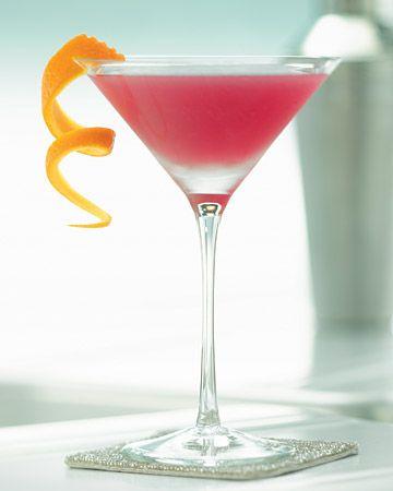 pomegranate juice + grapefruit juice + lime juice + vodka + simple syrup + ice