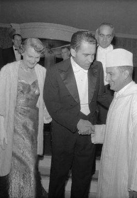 Le Roi Mohammed V et Nixon #Casablanca #Maroc #Morocco #Moroccan #History