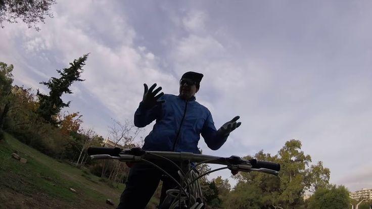 Καλό μήνα! Ποδήλατο τον χειμώνα VLOGMAS #1