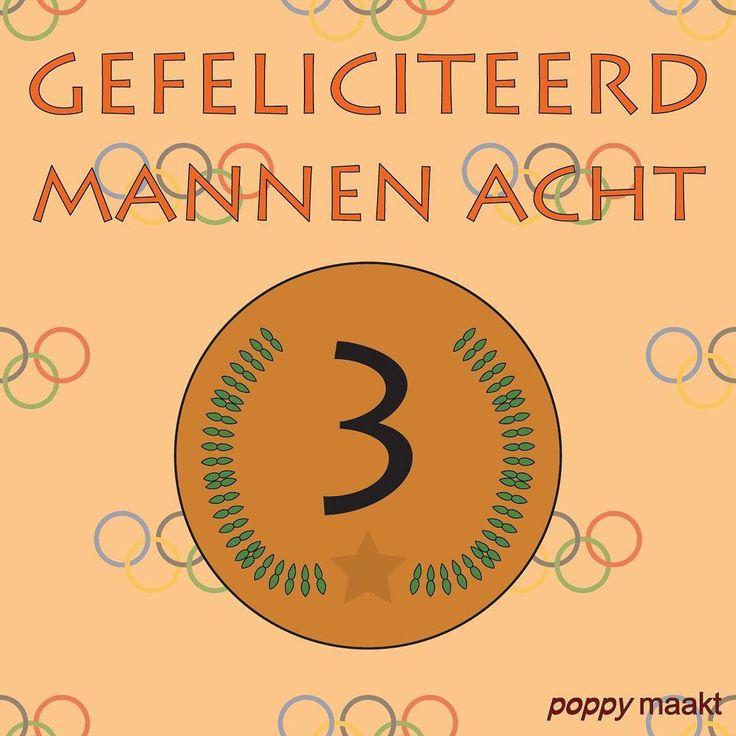 As Seen On Insta: all the medals  Gefeliciteerd @hollandacht met het winnen van het brons!  Congratulations men's eight on winning the bronze!  #PoppyMaakt #Rio2016 #Rio #Brazilië #Brazil #Olympics #Olympic #RioOlympics2016 #Rowing #Roeien #NED #TeamNL #Holland #Dutch #Nederland #HollandAcht #Holland8 #Bronze #Brons