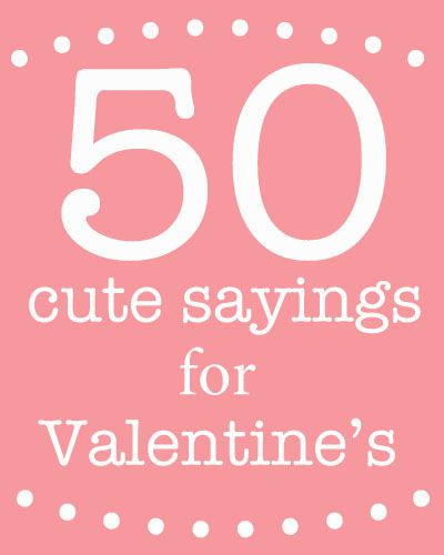 Cute Toddler Valentines Day Quotes: Good For Teaching Creative Thinking. Cute Sayings For