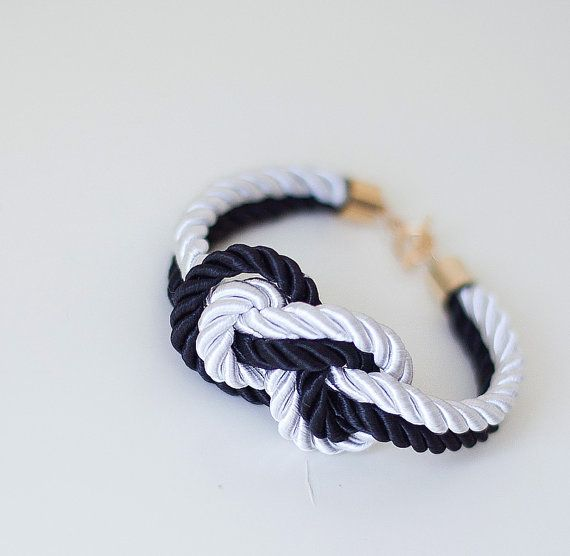 Silk rope knot bracelet
