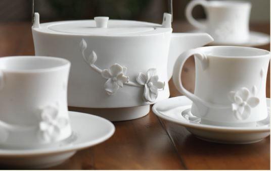 Teavana dragon tea set