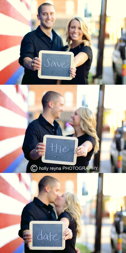 Our save the date :)