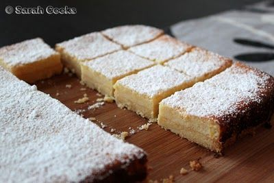 Condensed Milk Lemon Slice ~ Made this today, crazily scrumptious!