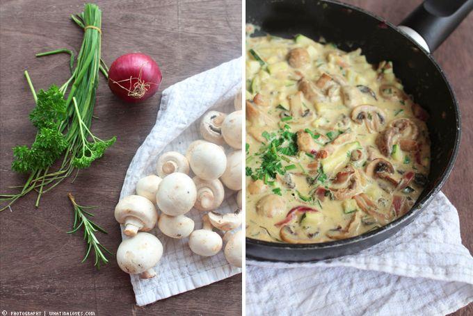 ...what Ina loves ❤ : {Delicious Dinner} Herbstlich-leckeres Pilzpfännchen