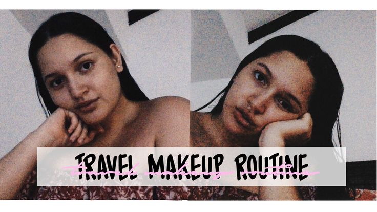 Life with Gabriela: ☆ Travel makeup routine ☆