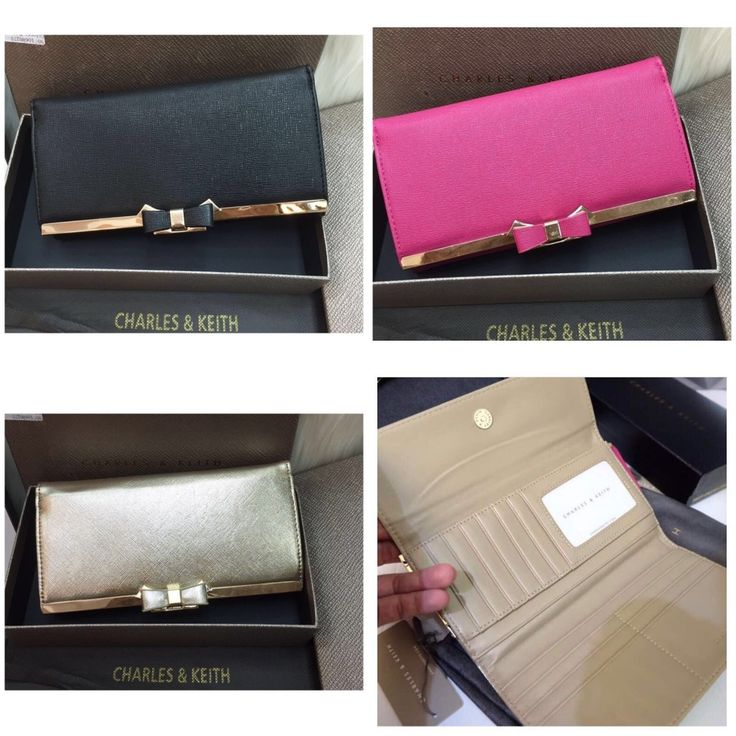 Dompet Charles and Keith Bow Ori 7107 19x10 190rb