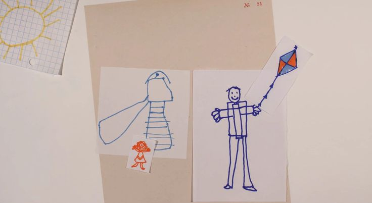 Why Children's Drawings Matter #Animation #2D #Arts #Design by Delphine Burrus, Marion Le Guillou, Nadège Feyrit (France)