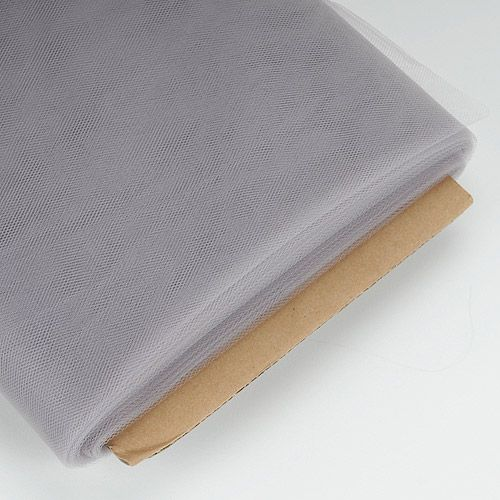 54 Inch Tulle Fabric By Bolt   40 Yards   Silver Colors   Cheap Wholesale  Prices