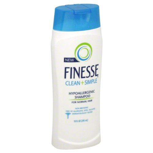 Finesse Clean and Simple Hypoallergenic Shampoo for Normal Hair 10 fl oz 295 ml *** Read more  at the image link.