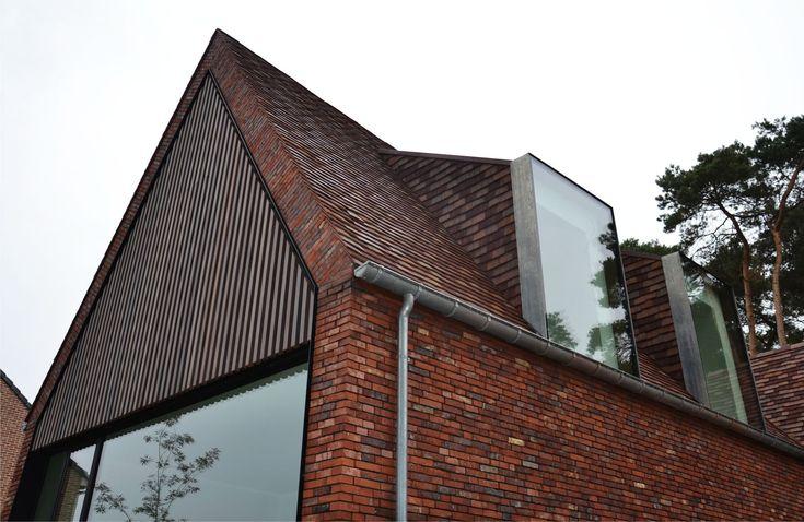 Moderne oplossing voor een dakkapel: het contrast tussen oud en modern versterkt beide!