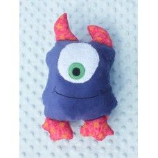 """Zheta"" Purple friendly monster"