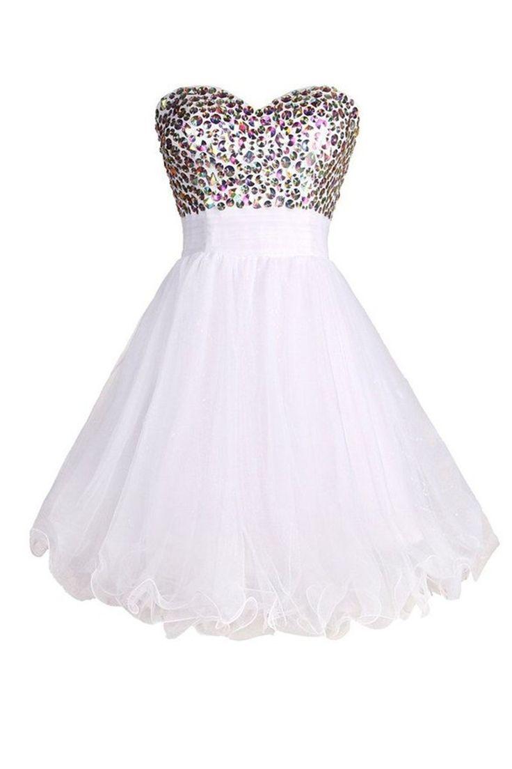 Black dress under white graduation gown - Short White Graduation Dress Vestid